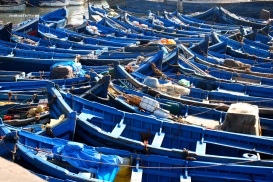 Il porto di Essaouira.