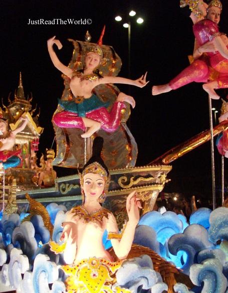 Il Loi Kratong a Chian Mai, Thailandia.