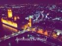 La House of Parliament vista dalla London Eye.