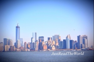 New York skyline visto dall' Hudson