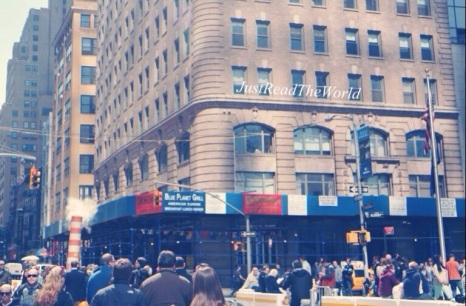 Wall Street, New York.