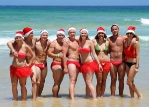 Natale a Bondi Beach, Sydney
