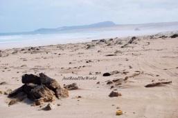 Boa Vista: spiaggia deserta.