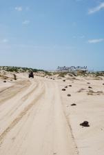 Tra le dune di Boa Vista.