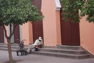 Fuori dal caos del Souq, Marrakech.