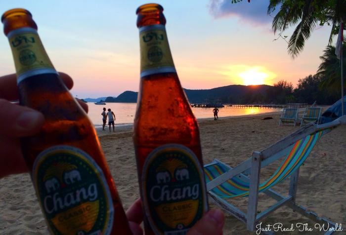 Una Chang al tramonto, Koh Mak - Thailandia.
