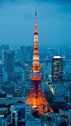 Tokyo Tower (Pinterest)