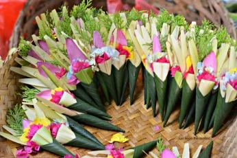 Fiori al mercato - Bali