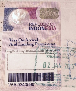 Il VOA - Visa on Arrival