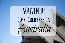 souvenir cosa comprare in australia
